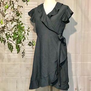 Blu Sage Wrap Dress